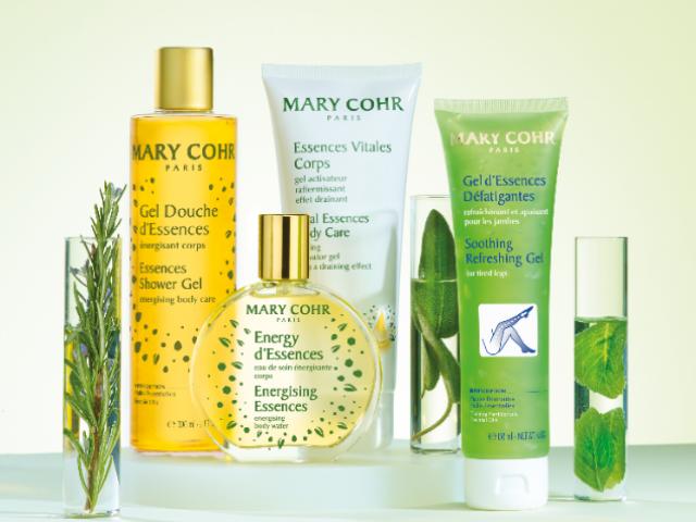La gamme de soin Aromathérapie beauté pour le corps