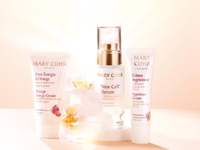 La gamme de produits de soin Eclat pour le visage