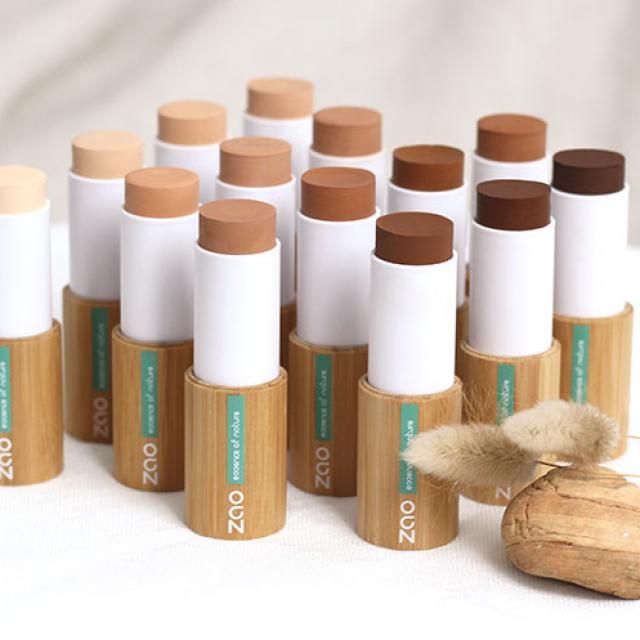 La gamme des produits de maquillage pour un teint zéro défaults
