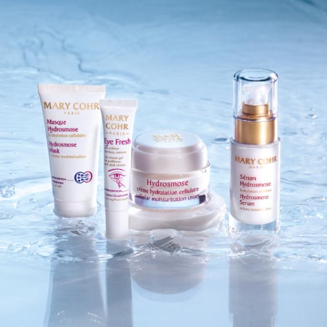 La gamme des produits de soin hydratants pour le visage